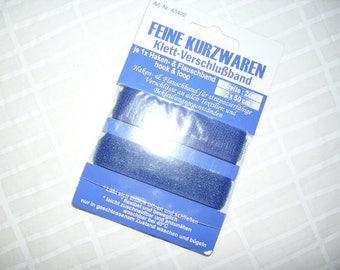 Velcro stripe, blue, 50 cm (358)