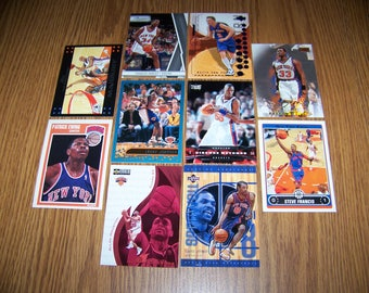 50 New York Knicks Basketball Cards