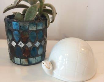 Vintage porcelain turtle