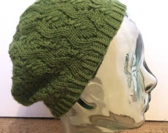 Green Apple slouch beret
