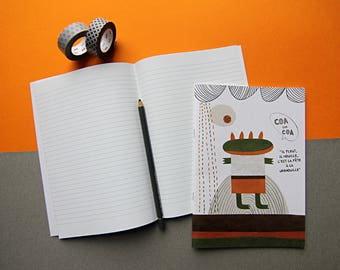 COA notebook / / / 48 lined pages