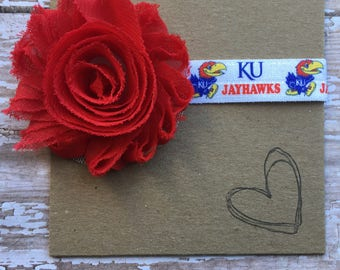 University of Kansas, Jayhawks Baby Headband