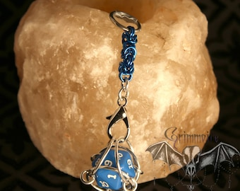 D20 Dice Necklace and Keychains