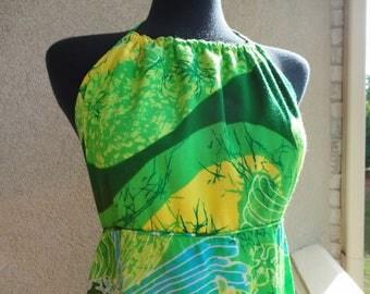 Liberty House Hawaiian Halter Dress