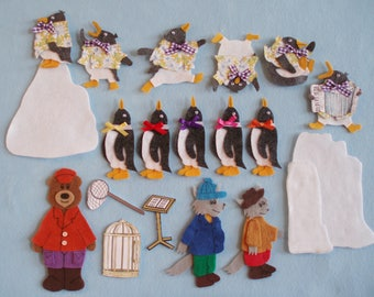 Tacky the Penguin Felt Board Story/Felt Board Stories/Flannel Board Stories/Teaching Resource/