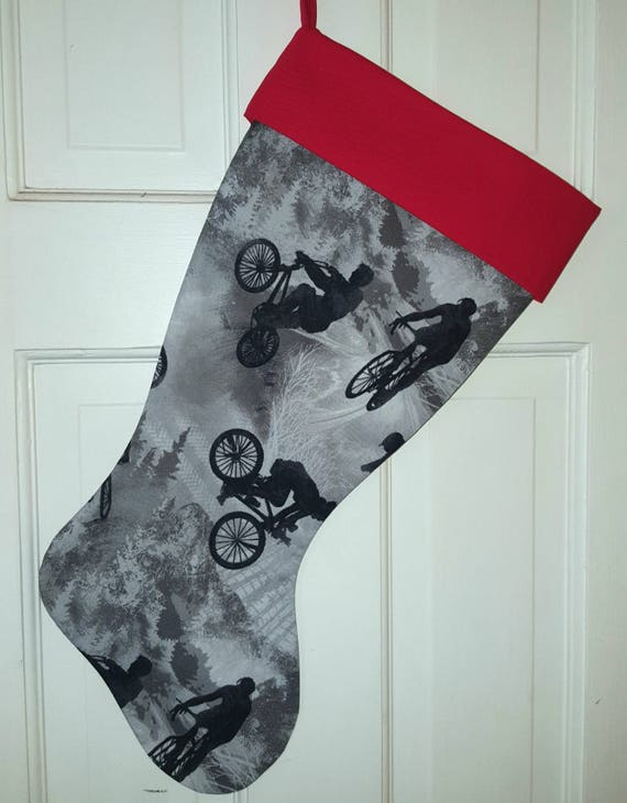 Bike Christmas Stocking