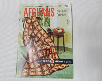 Coats and Clark Afghans to Knit and Crochet,  Book 127