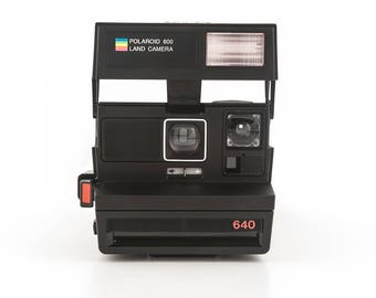 Polaroid 640 Land Camera - Tested and Working - Polaroid 600 Instant Film Camera - Uses Polaroid Originals Instant Film