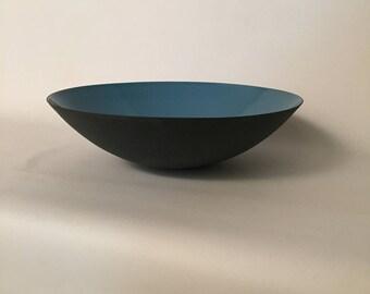 Danish Enamelware Krenit Bowl Herbert Krenchel