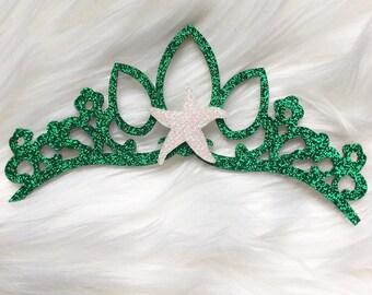 Mermaid doll crown, doll crown, doll accessory, doll accessories, mermaid doll accessory, mermaid doll accessories