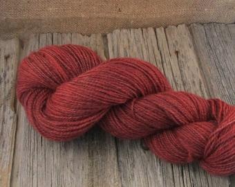 Hand dyed Yarn, 100% Lincoln Longwool, 'Orwell'