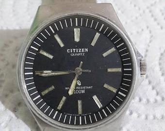 Vintage Citizen watch Diver submariner 100 M