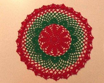 Beautifully Simple Christmas Doily