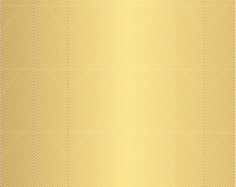 12x12 Gold Chevron Cardstock