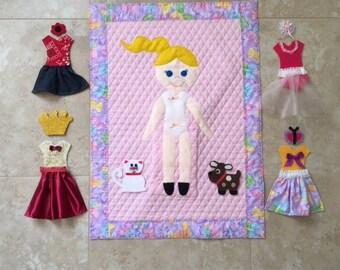 Paper Doll Quilt Kit