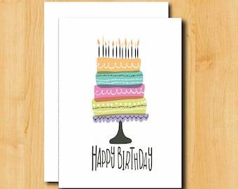 Birthday Card | Birthday Card for Boyfriend | Birthday Card for Him | Birthday Card for Her | Birthday Card for Best Friend