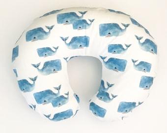 Nursing Pillow Cover Whale Pods. Nursing Pillow. Nursing Pillow Cover. Minky Nursing Pillow Cover. Whale Nursing Pillow Cover.