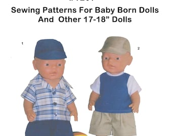 BABY BORN 16-17 inch and other dolls of similar size #1207