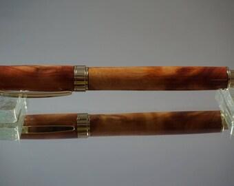 Magnetic Graduate Rollerball Pen, Gold --  Juniper (JUN8)
