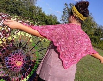 Shawl Kit by Zorn Junction Yarn Crawl Shawl 2017
