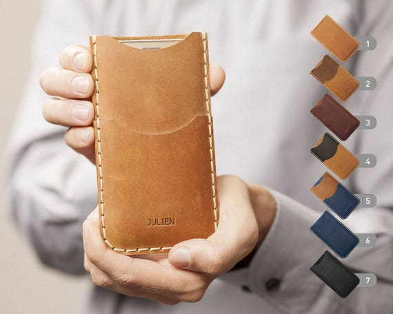 Pixel 2 XL Leather Cover Case PERSONALIZED Gift Google Nexus 6P 6 5X 5 ENGRAVED Sleeve Rough Vintage Style Pouch Custom Size