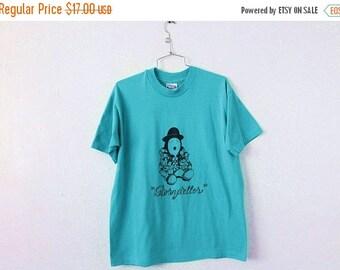 ON SALE LARGE Vintage 1991 Storyteller Graphic T-Shirt