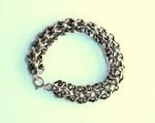 Antique French Silver Bracelet