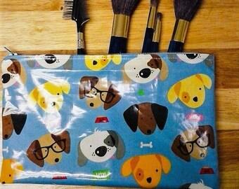 Puppy Love Cosmetics Bag