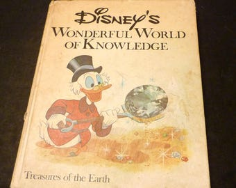 1973 Disney's Wonderful World of Knowledge Vol. 8 -treasures of the Earth