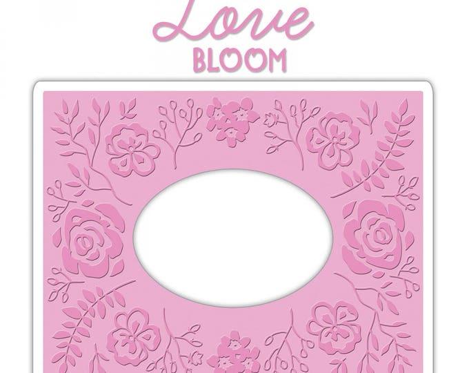 New! Sizzix Impresslits Cut & Emboss Embossing Folder - Garden Frame 661955