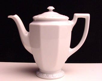 vintage Rosenthal coffee pot, pattern Maria Weiss (Maria White)