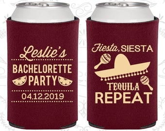 Fiesta Siesta, Tequila Repeat, Unique Bachelorette, Mexican Bachelorette Party Favors, Mexico Bachelorette Favors (60003)