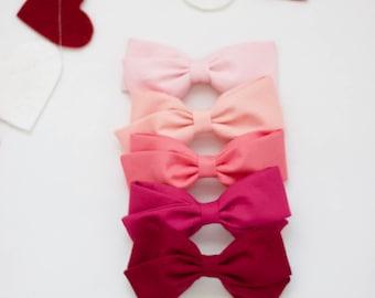 Individual Valentine Bows