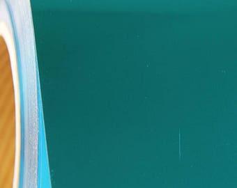 "Aqua Metallic Foil 20"" Heat Transfer Vinyl Film By The Yard"