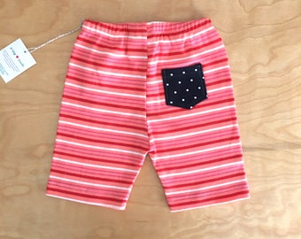 3T Shorts - Kid Shorts - Polka Dot Shorts - Knit Kid Shorts - Eco Kids Clothes - Upcycled Kids Clothes - Toddler Shorts - Girl Shorts