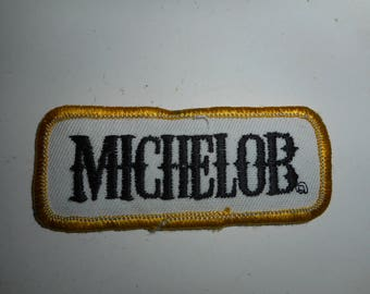"Vintage Michelob Beer Patch 3""x1.25"""