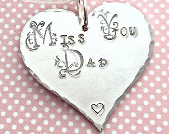 Remembrance gift,Miss you Dad, missing you, miss you, Christmas tree decoration, Remembrance,uk seller, Norfolk,