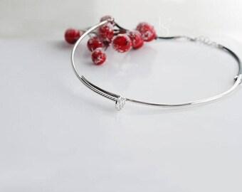 Handmade Silver Nail I Necklace.