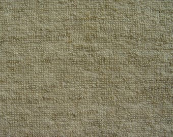 Natural Washed Tumble-Dried Small Loops Terry 100 % Linen Fabric by Meter