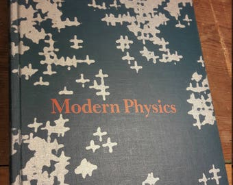 1960s Physics Book - Vintage Math & Science Textbooks - Antique Decorative Old Books - Midcentury Text Books - Very Good Condition - 70's