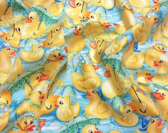 Robert Kaufman Rainy Day Duck AKH-7893-4 Blue Patchwork Quilting  Dressmaking Cotton