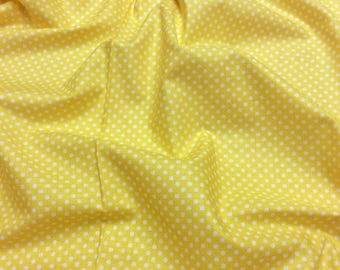 Timeless Treasures Tweet C8889 Yellow with White spot Patchwork Quilting Fabric