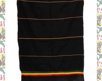 Ethiopian Traditional Woven Cotton Shawl (Scarf-a17)