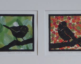 Japanese Birds II and I