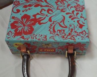 Summer Fun Cigar box purse