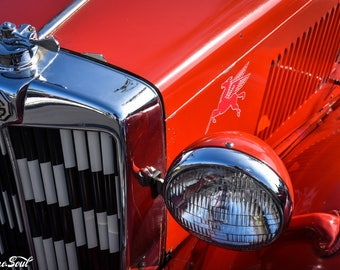 MG Roadster Grill
