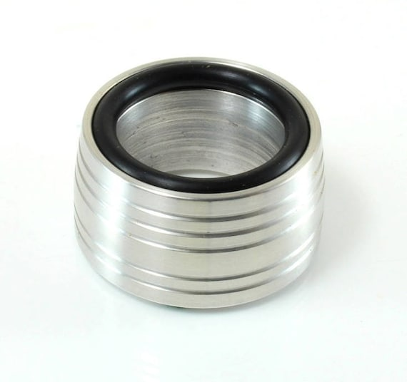 "Aluminum Sphere Stand, Grooved 1.5"", CJ-111"