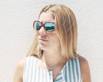 Mirrored Sunglasses Optim - Model Slalom - New old stock