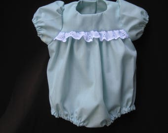 PALE GREEN color Romper - Fits 14-16 inch Reborn doll