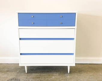 AVAILABLE: White MCM Chest
